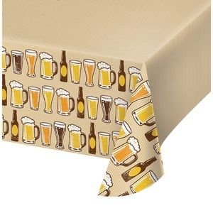 BEER TABLECLOTH